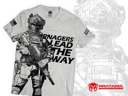 [PratamaTactical] Pratama Tactical x RN4 collabo Ranger series special edition T-shirt.