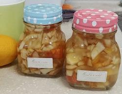 정성 가득한 선물, 수제 레몬사과청 만들기