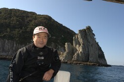 Loged 10,000th dive by Byungil, Kim(Pacific dive center, Jeju, Korea)