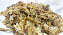 기나긴 겨울 엄니가 해준 시래기밥