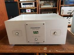 POWERTEK PAV-5000 중기형 5k AVR 전압장치 입니다 -A급-