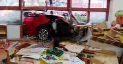광주 유치원 사고 창문 뚫고 그대로 돌진해 20명 부상