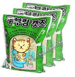 [고양이 모래/두부랑 캣츠 녹차]1년 동안 써왔던 너라는 모래, 두부랑 캣츠 녹차 사용 후기!