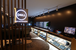 Dell 엔터프라이즈 CSC 전시존에서 기업용 컴퓨터 미리 체험하자