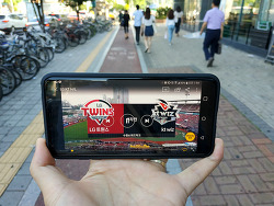시작 광고 없이 보는 프로야구 앱 옥수수(oksusu)