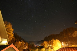 알프스밤하늘