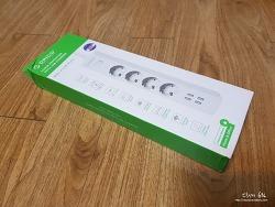 [Aliexpress.com] ORICO OSC-4A4U-EU USB 4구 멀티탭 ($18.99)