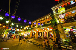 베트남 호이안의 아름다운 야경 / Hoian, Vietnam