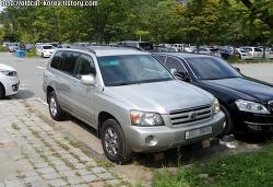 토요타 하이랜더 (Toyota Highlander) 1세대 발견