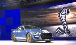 머스탱 끝판왕 '2020 머스탱 쉘비 GT500' 실물 사진 유출