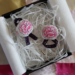 특별한 핸드메이드 추석 선물! 모란꽃 브로치 만들기