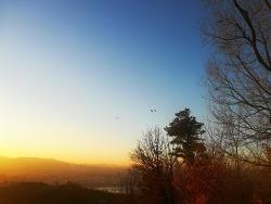 2018년 12월 겨울 아차산 등한, 한파