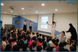 [웰튼병원 소식] 감기 예방을 주제로 어린이 안전교육 진행 (LG사이언스파크 어린이집)