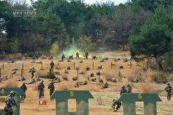 신병 1243기 2교육대 극기주 - 각개전투훈련