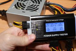 파워서플라이 테스터기 컴퓨터 문제 간단하게 체크하는 방법