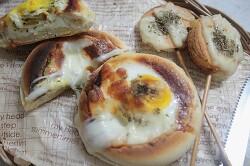 잉글리쉬머핀으로 계란빵만들기.방학간식