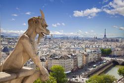 The Enchanting History of Notre-Dame Cathedral's Famous Gargoyles 프랑스 파리의 노트르담 성당의 괴물 석상의 빛나는 역사