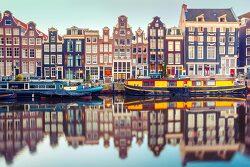 네덜란드 암스테르담 Amsterdam 1일 여행 경비 계산, 날씨[유럽 배낭여행 비용]