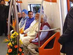 현대로템 인도 무인전동차 영업운행 돌입