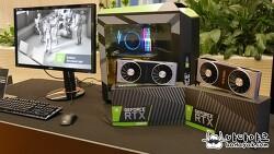 엔비디아 지포스 RTX 출시 발표회에서 본 수랭 시스템