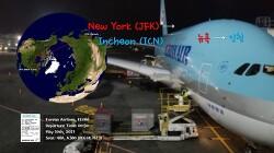 [170510] 뉴욕-인천 (JFK-ICN), 대한항공 (KE086), A380 탑승기