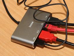 아이노트 FS-CH31P USB-C 멀티포트 노트9 덱스 노트북 충전