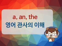 [기초문법] a an the 영어 관사 사용법 ㅣ 라쿤잉글리시