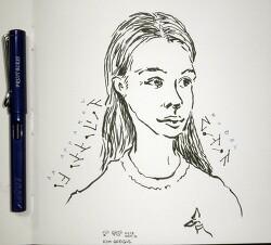 [자작그림] An Unknown Apparel Female Model - 2