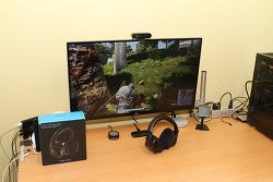 로지텍 7.1채널 무선 게이밍 헤드셋 G533 사운드 및 편의성 게임 소프트웨어