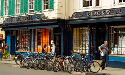 옥스퍼드는 서점도 관광지, Blackwell 서점!