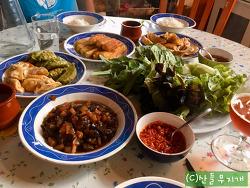시어머니가 영감을 받은 한국인의 식단