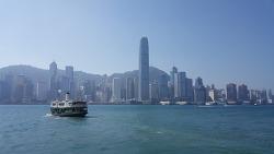 홍콩 섬과 구룡반도를 잇는 스타페리
