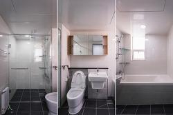 부천 상동 진달래마을 대우 푸르지오 아파트 욕실 인테리어(185㎡)