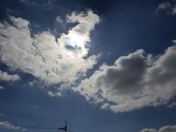갤럭시 S9+ 으로 찍은 하늘