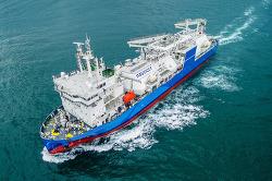 현대미포조선, 중소형 LNG운반선 시장 본격 진출