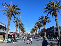 캘리포니아 여행, LA 여행, 라라랜드로 유명해진 엘모사 비치(허모사 비치 Hermosa Beach)