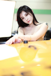레이싱모델 서한빛, 신채은, 석진아,  연다빈, '서울오토살롱'