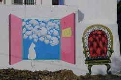 통영 동피랑마을, 서피랑마을 - 바다가 내려다보이는 벽화마을의 원조 길