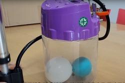 힘이나 압력을 가했을때 기체와 액체의 부피는 변할까?