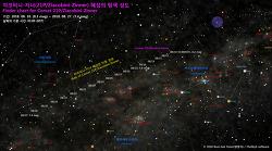 쟈코비니-지너 혜성 (21P)의 탐색 성도 Finder chart for Comet 21P/Giacobini-Zinner