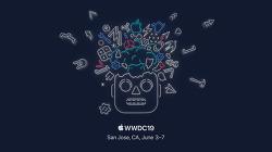 6월 3일 부터 7일까지 개최되는 WWDC 2019 월페이퍼