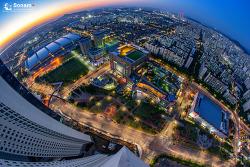 파주 현대백화점 야경