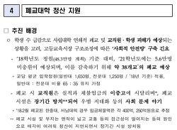 """교육부의 """"2021년 38개 대학 폐교 예상"""" 주장은 틀렸다"""