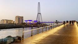 [두바이] 인공섬 블루워터, 2020년 개장할 세계에서 가장 큰 대관람차 아인 두바이의 거점