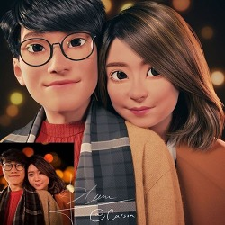 실제 낯선 사람들을 만화 캐릭터로 바꿔주는 아티스트 Artist Transforms Real Life Strangers Into Pixar-Like Cartoon Characters