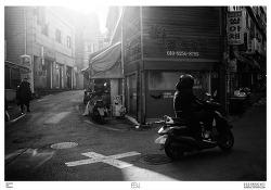 BnW / 흑백사진 / 청파동 / 빛