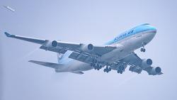 Boeing 747-400 기종의 삼총사?^^ GMP 착륙전 장면 4K로 한장씩 만 ㅋㅋㅋ