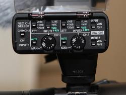 Sony XLR-K2M FDR-AX100 캠코더 A7M3 카메라 사용해보기