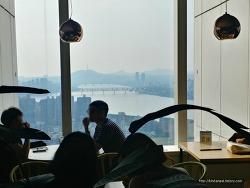 잠실 제2롯데월드타워 31층 서울 전망 좋은 카페