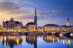 스위스 취리히 Zurich 1일 여행 경비 계산, 날씨 [유럽 배낭여행 비용]